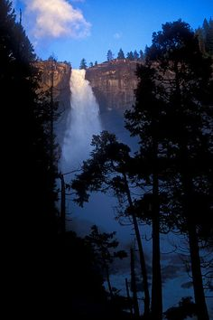 Nevada Falls, Yosemite National Park; photo by Matt Purciel