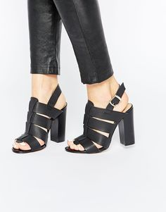 Truffle Collection Vela Sling Block Heeled Sandals