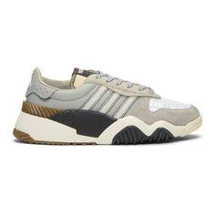 adidas Originals by Alexander Wang Grey Turnout Trainer Sneakers Alexander Wang, Adidas Originals, Trainers, Kicks, Mens Fashion, Running, Grey, Sneakers, Shoes