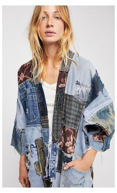 Denim Fashion, Look Fashion, Fashion Clothes, 80s Fashion, Street Fashion, Fall Fashion, Korean Fashion, Vintage Fashion, Fashion Tips