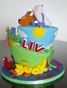 Word World Nd Birthday Cake  Childrens Birthday Cakes Word - Words on cake for birthday