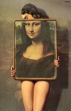 Mona Lisa - Mona Lisa Magritte 1