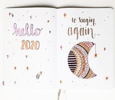 The Best 2020 Bullet Journal Pages To Use This Year – Sidereal Life <br> 2020 Bullet Journal Pages! Don't forget to include these spreads while setting up your bullet journal. Find out what pages will guarantee the new year ever! Bullet Journal Vision Board, Bullet Journal Lettering Ideas, Daily Bullet Journal, Bullet Journal Books, Bullet Journal Cover Page, Journal Fonts, Bullet Journal School, Bullet Journal Ideas Pages, Bullet Journal Spread