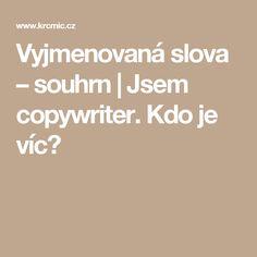 Vyjmenovaná slova – souhrn | Jsem copywriter. Kdo je víc?