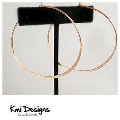 14k Solid Gold Hoop Earrings