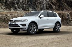 Volkswagen Touareg 2015 White