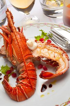 Lobster Dishes, Lobster Recipes, Seafood Pasta, Fish And Seafood, Shellfish Recipes, Seafood Recipes, Belgium Food, Great Recipes, Healthy Recipes