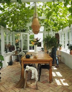 Outdoor Spaces, Outdoor Living, Outdoor Decor, Bohemian Patio, Greenhouse Interiors, Green Rooms, Glass House, Historic Homes, My Dream Home