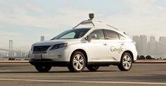 Un Google car víctima de un accidente de tránsito a causa de un error humano!   El vehículo autónomo de Google se chocó con una camioneta ...