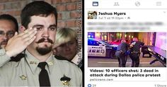 Officer Demoted For 8 Simple Words He Said To Black Lives Matter Cop Killers