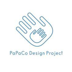 PaPaCo Design Projectロゴマーク。 コンセプトはパパと子どもが一緒に遊ぶ。 おもちゃを通してコミュニケ�