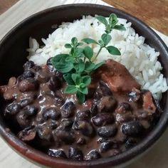 Feijoada - Plato típico brasileño ( porotos negros y arroz) - Paperblog