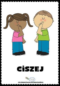 Zasady klasowe- Ciszej Learn Polish, Polish Language, 3d Paper Crafts, Classroom Rules, Reggio Emilia, Asd, Classroom Management, Kids And Parenting, Montessori
