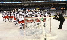 Stadium Series: Rangers vs. Islanders. 1/29/14. (picture from blueshirtsunited.com)