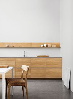Reform collaborates with Norm Architects on Profile, a collection of doors and drawers compatible with IKEA's SEKTION kitchen cabinets.