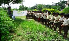 Learning becomes fun when it is taken beyond the four walls of the classroom! Children from Smile Foundation's Mission Education centre BTS at Bainkunthapur village, in South 24 Parganas district of West Bengal, were in for a surprise when their teachers organised a nature learning class for them. The routine classroom sessions were given a break, and the visit was designed as a direct field oriented information collection process through which children can watch their surroundings.