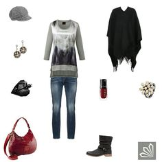Simple Poncho http://www.3compliments.de/outfit-2015-12-18-o#outfit4