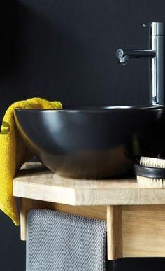 Cloakroom wood basin unit with integral towel rail - artline range Bathroom Storage, Small Bathroom, Bathroom Ideas, Bathrooms, Corner Basin, Downstairs Cloakroom, Basin Unit, Corner Unit, Towel Rail