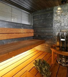 Sauna Sauna Design, Finnish Sauna, Spa Rooms, Saunas, Home And Living, Sweet Home, Interior, Dreams, Google