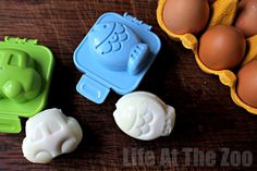 Lunchbox/ Picnic Ideas: How to Use an Bento Egg Mold - Life At The Zoo
