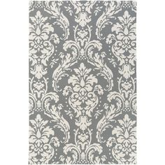 Annette Josephine Gray 7 ft. 6 in. x 9 ft. 6 in. Indoor Area Rug