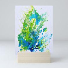 SpringSplash Mini Art Print by roxanazorzo   Society6 Decor Styles, Cool Art, Gallery Wall, Art Prints, Mini, Stuff To Buy, Products, Art Impressions, Gadget