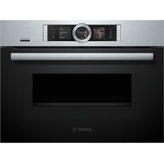 Bosch Serie 8 CMG676BS6B Built In Combination Microwave Oven - Brushed Steel