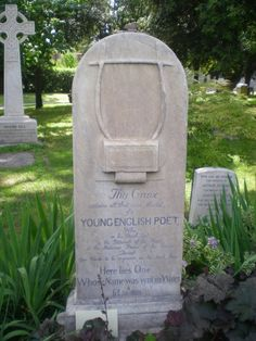 The Famous Unnamed Grave of Keats in the Protestant Cemetery http://inpursuitofadventureblog.wordpress.com/2013/06/11/a-glimpse-of-the-protestant-cemetery-in-rome/