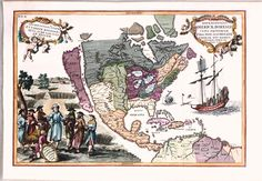 This Map of North America was printed in 1702 for Scherer's Atlas Novus.