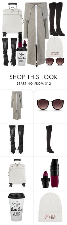 """""""hungover but classy"""" by hummeldumm ❤ liked on Polyvore featuring Walk of Shame, Rebecca Taylor, Michael Kors, Ash, Serapian, Lancôme and airportstyle"""