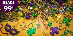 Party City - Huge Assortment of Beads of all types