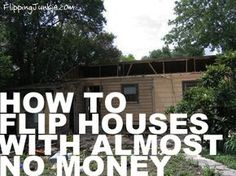 Flipping Houses with No Money (almost) - Learn how to flip houses with little to almost no money. Read about the 5 strategies available to you to buy houses to flip. Flipping houses is possible. Real Estate Information, Real Estate Tips, Real Estate Investor, Real Estate Marketing, Investment Property, Rental Property, Income Property, Rehab House, Wholesale Real Estate