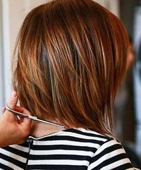 Most Beloved Layered Bob Styles Bob Hairstyles 2015 - Short Hairstyles for Women Thin Hair Cuts, Long Thin Hair, Straight Hair, Dark Auburn Hair, Hair Color Auburn, Dark Hair, Short Auburn Hair, Auburn Bob, Blonde Hair