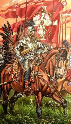 Rotmistrz husarii na początku XVII wieku. Military Art, Military History, Poland History, Templer, Modern Warfare, Dark Ages, Medieval Fantasy, Larp, Middle Ages