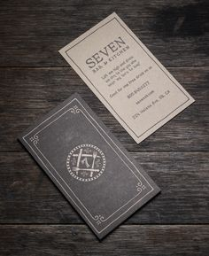 Seven Bar and Kitchen by SLTWTR Creative Agency, via Behance