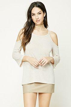 e04e2d28d44930 Raglan Sleeve Bowknot Cutout Jumper Sweater - Pink