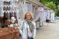 Une nouvelle commerçante sur le marché de Pont-de-Vaux.