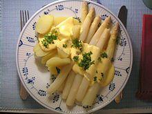#Holländische Sauce: #Spargel mit #Kartoffeln und Sauce hollandaise