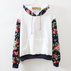 Fabric: Cotton Color: White, Gray Sleeve: long sleeve Size: one size ( standard size ) Size Chart : (CM) Length 60 , Bust 110 , Sleeve 57