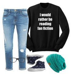 """""""Untitled #109"""" by haleynhester on Polyvore featuring Frame Denim, Ray-Ban and Keds"""