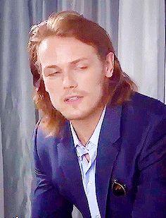 """Full Gorgeous Ginger Glory Sam Heughan [x]"""