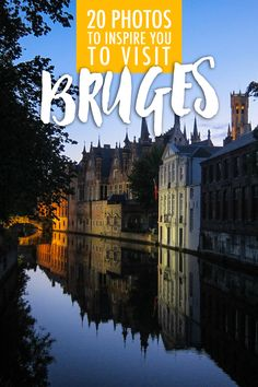 Oh Bruges! What a beautiful little fairytale town. I've had the opportunity to travel to Bruges on 2 separate trips and it's no wonder why Belgium is one of my favorite destinations in Europe.Bruges is one of the most picturesque European cities I've ever been to. Between the canals, swans and gingerbread house style buildings, the level of romance is off the charts!