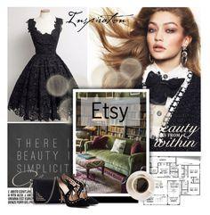 """Etsy10/10"" by elmaimsirovic ❤ liked on Polyvore featuring Prada"