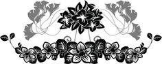 Illustration about Floral stencil pattern set, vector illustration for web. Small Quote Tattoos, Small Tattoos With Meaning, Cute Small Tattoos, Jasmine Flower Tattoos, Make Tattoo, Tattoos For Daughters, Flower Tattoo Designs, Disney Tattoos, Tattoo Fonts