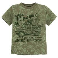 T-shirt manches courtes avec sérigraphie