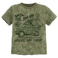Vehicle Print Short Sleeve T-Shirt