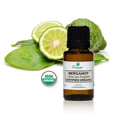 Bergamot essential oil is a USDA certified oil.  Which is great for:  Acne, Analgesic, Anorexia, Antibiotic, Antidepressant, Antiseptic, Anti-spasmodic Chicken Pox, Cold sores, Convalescence, Cystitis, Depression, Eczema, Fear, Gallstones, Herpes, Hysteria, Indigestion Inflammation, Internal infections, Intestinal parasites, Liver stimulant, Nervousness, Psoriasis, SAD (Seasonal Affected Disorder), Skin infections, Stress, Stomach calmative / health, Tension, Urinary tract infections, and…