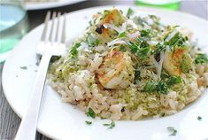 Spicy Coconut Shrimp with Brown Rice