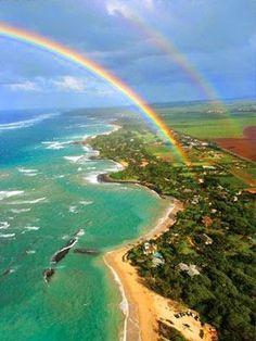 Double Rainbow, Maui, Hawaii