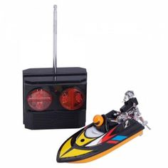 Mini Radio Speed Boat Are you preparing a secret gift for your kid's birthday or upcoming festivals? This remote control toy is a good choice for your child. Adopting solid material and exquisite workmanship, it is safe and durable enough for your child.